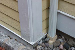Rotten exterior trim
