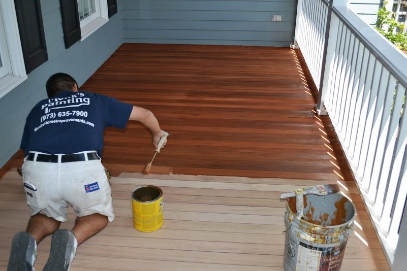 Deck Sanding and Staining