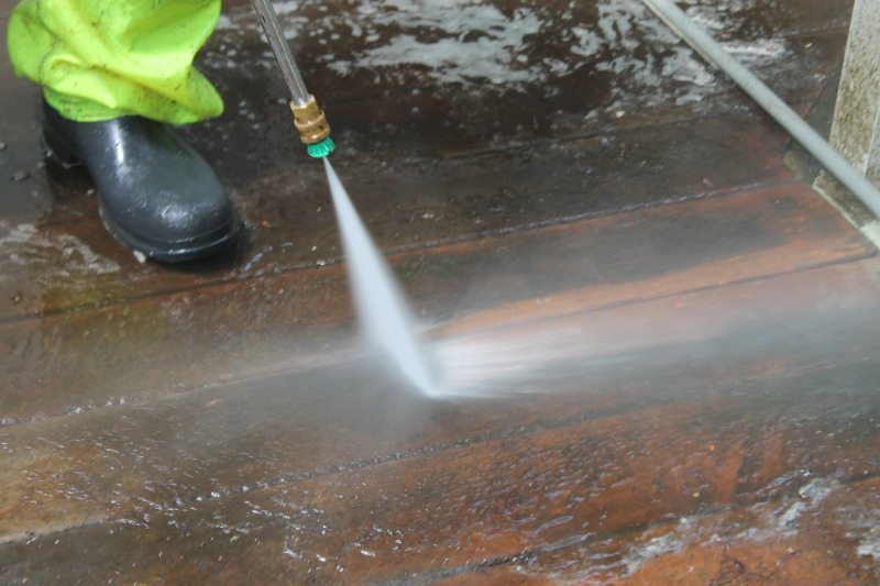 Powerwash Deck
