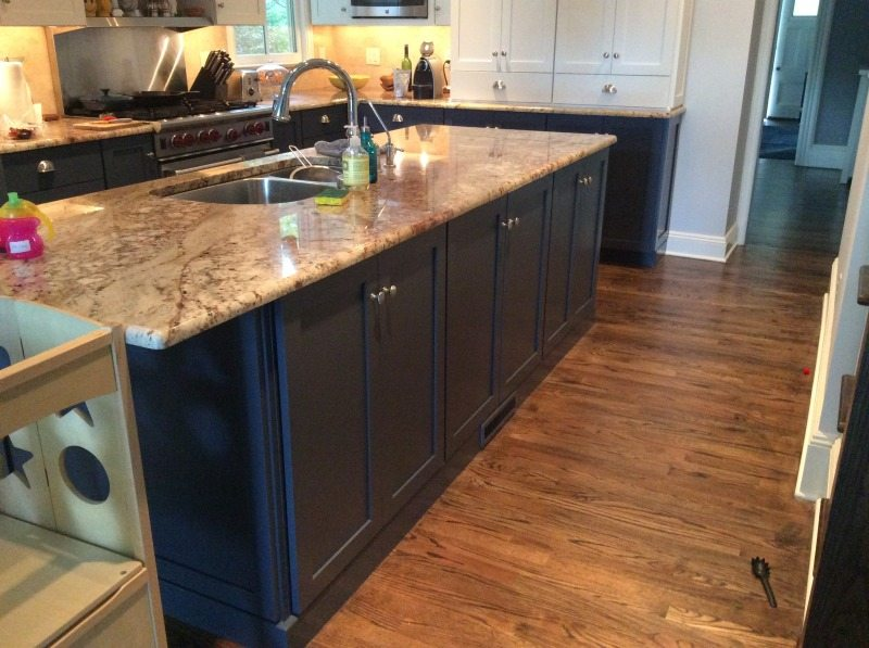 new jersey kitchen cabinets kitchen cabinet painting process and photos westfield 23744