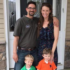 Jason Solomon and family