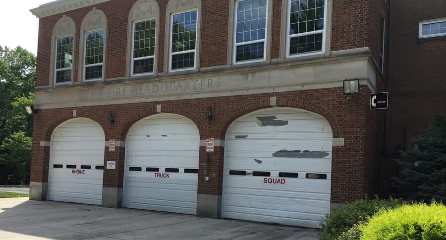Union Firehouse Before Painting
