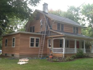 Exterior Sanding and Painting Project Florham Park