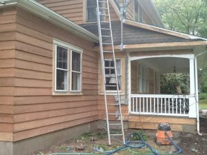 Exterior Sanding by Monk's