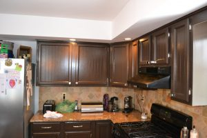 After Kitchen Cabinet Painting