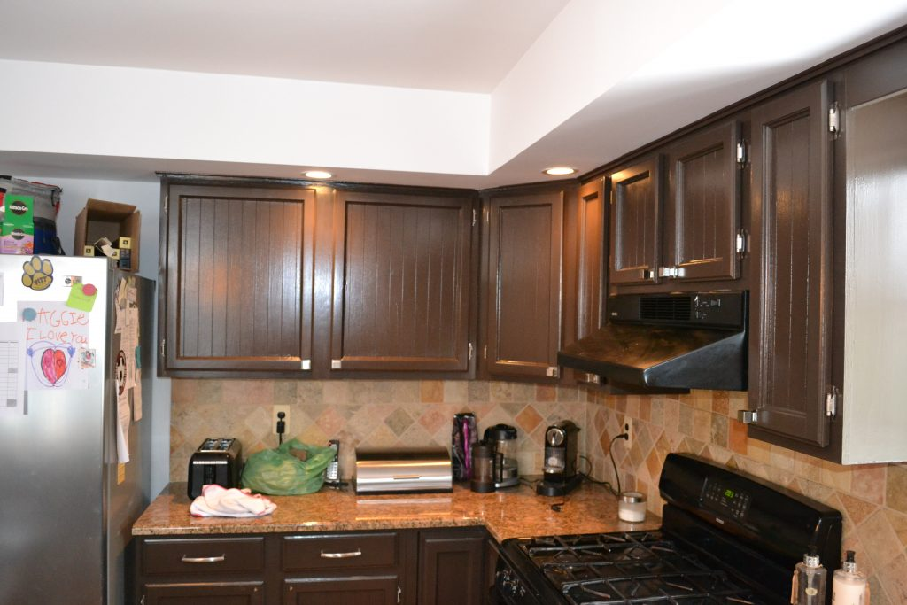 kitchen cabinet painting and custom pantry built in