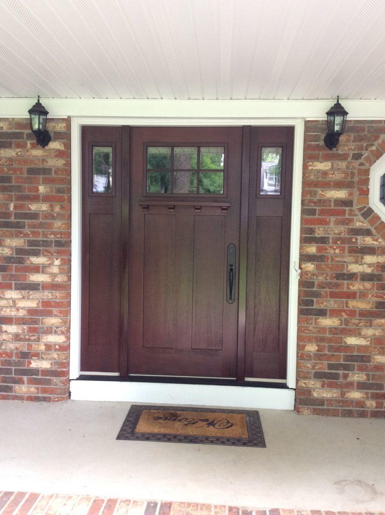 Front door replacement morris plains nj monk 39 s for Home front door repair