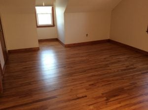 After Hardwood Floor Refinishing by Monk's Home Improvements