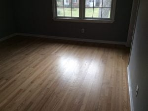 Dustless Floor Refinishing Project