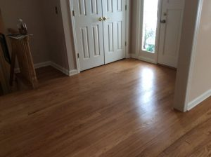 After Dustless Floor Refinishing by Monk's Home Improvements