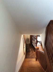 Wood Railing Staining by Monk's
