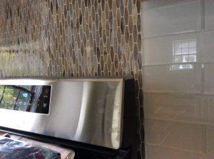 Tile Backsplash Installation by Monk's