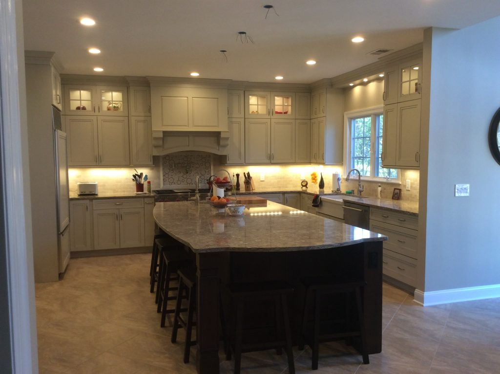 After Kitchen Remodel Basking Ridge