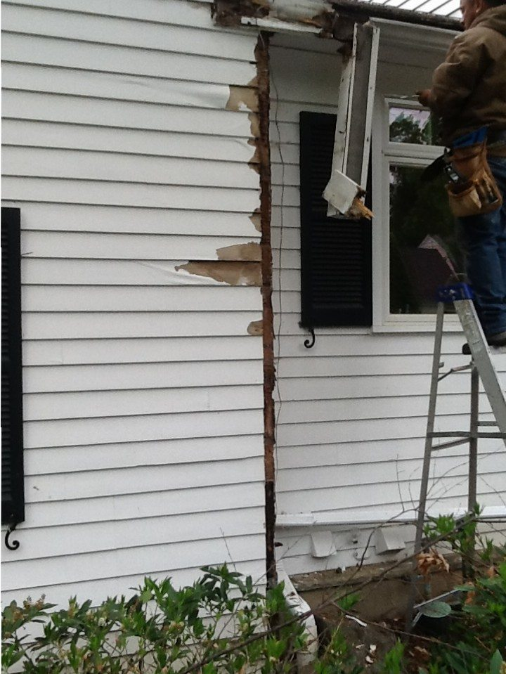 Exterior Carpentry Repairs by Monk's