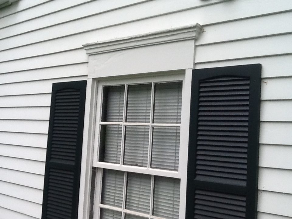 Exterior Trim Repairs by Monk's Home Improvements