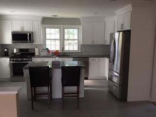 New Tile Floor as Part of Kitchen Remodel
