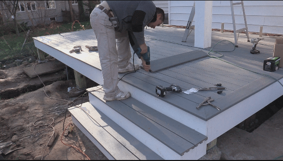 Installing Deck Boards