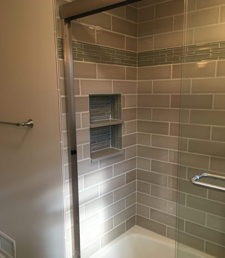 bathroom remodeling gallery - monk's home improvements