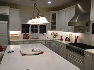 Kitchen Remodel with Tile Backsplash