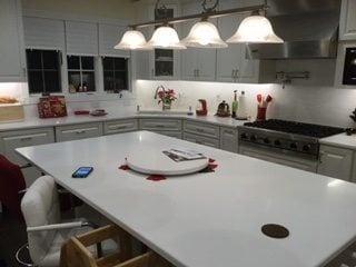 New Countertops Installd by Monk's in Chatham, NJ