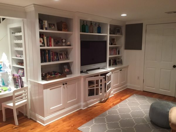 Custom Bookshelves And Built Ins Monks
