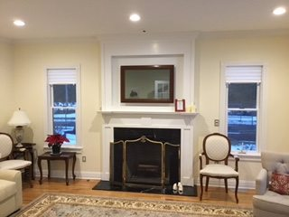 After Mantel Remodel Chatham