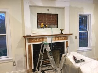 Mantel Remodeling by Monk's