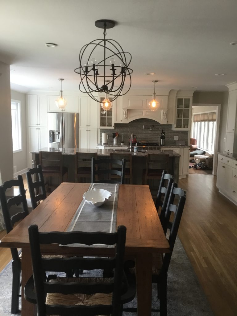 Gourmet Kitchen Remodel Morris Nj: Open Kitchen And Dining Room Remodel In Morristown, NJ