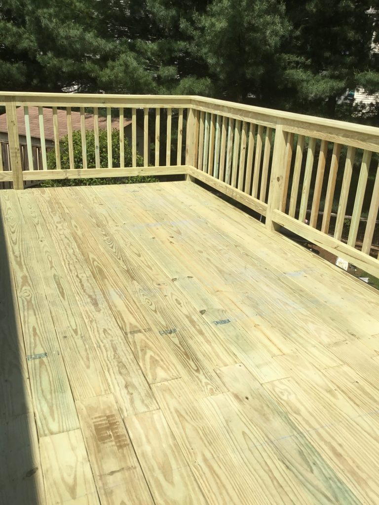 After Deck Renovations by Monk's