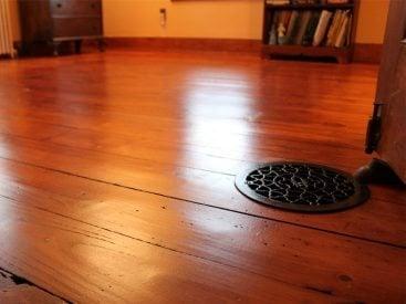 Historic Pine Floor Refinishing