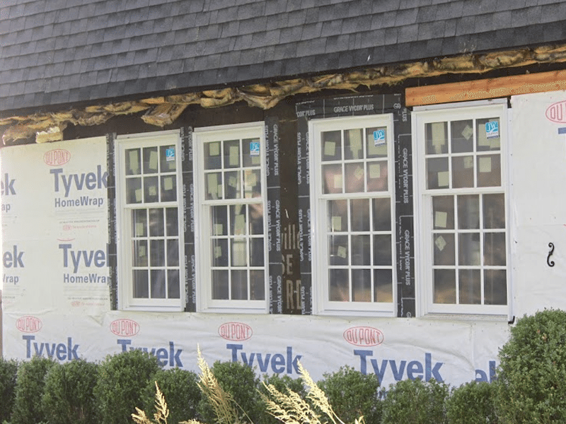 Hardie plank siding new windows and doors monk 39 s home for New windows and doors