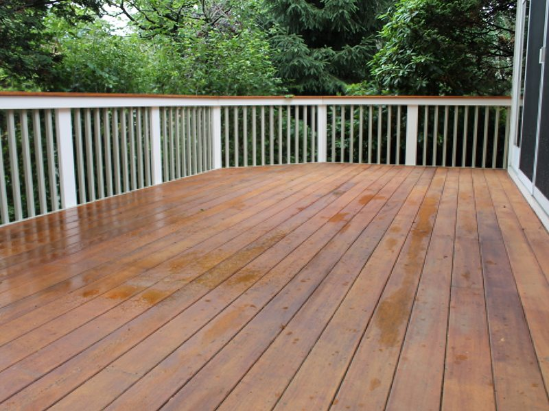 Deck Staining in Basking Ridge NJ
