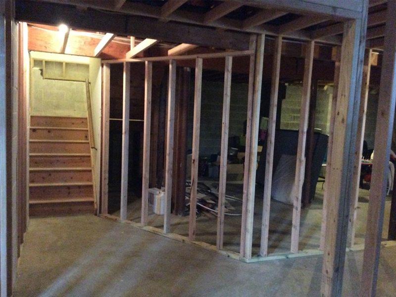 basement hallway refinishing chester nj monk 39 s home improvements