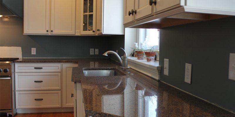 before kitchen tile backsplash installation