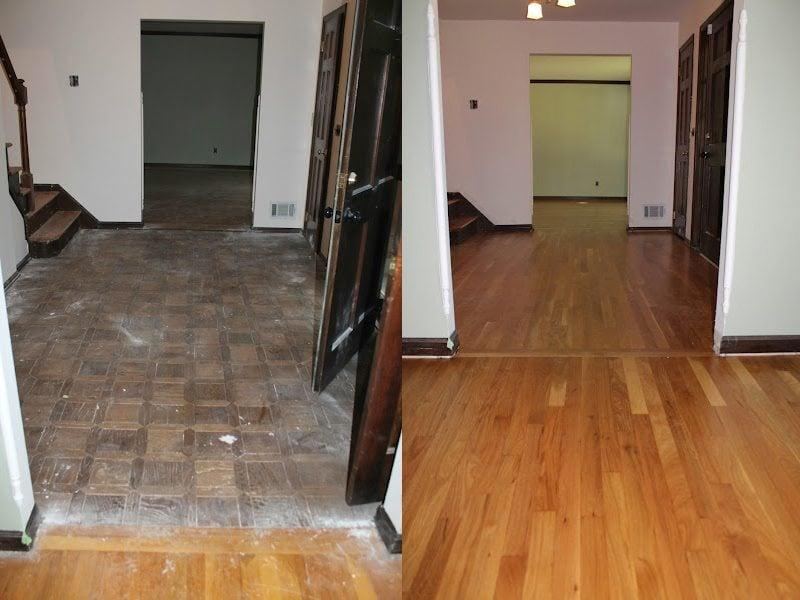 Hardwood Floor Installation And Dustless Floor Refinish