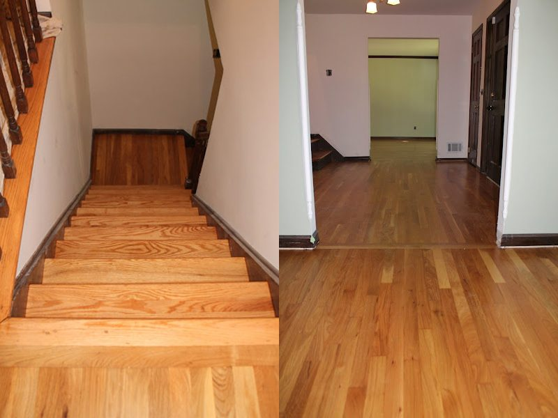 Hardwood floor installation and dustless floor refinish for Wood floor installation nj