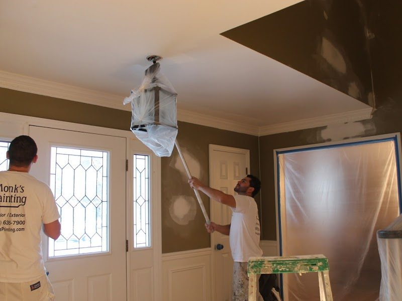 foyer interior painting basking ridge nj 07920 monk s