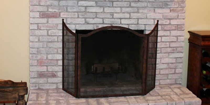 How To Paint A Brick Fireplace By Monk S Basking Ridge