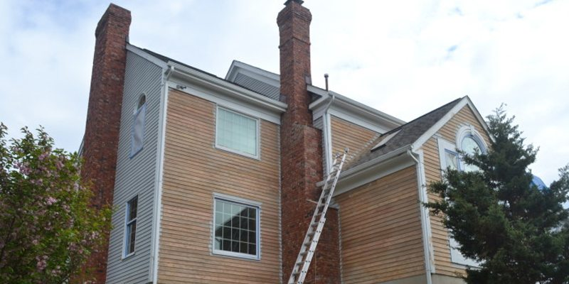 Sanding And Exterior Painting New Providence Monk 39 S Home Improvements