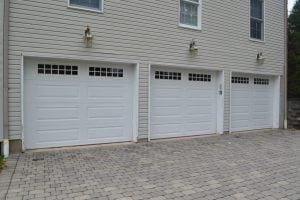 Before Garage Trim Replacement Randolph, NJ