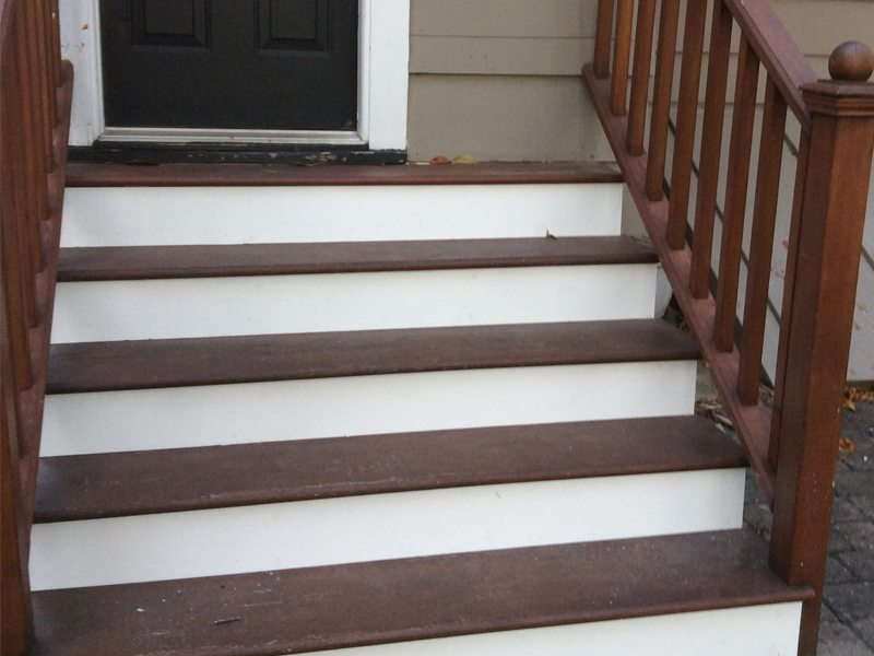 Exterior Stair Replacement in Westfield NJ