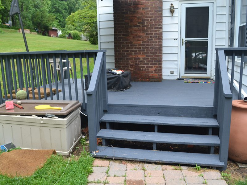 Deck Renovation and Staining