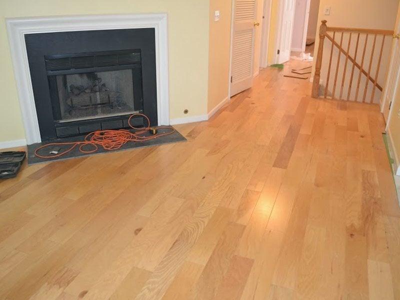 After Floating Hardwood Floor Installation