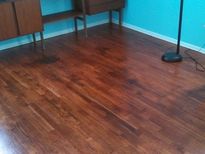 Refinishing water damaged hardwood floors east hanover nj for Hardwood floor refinishing