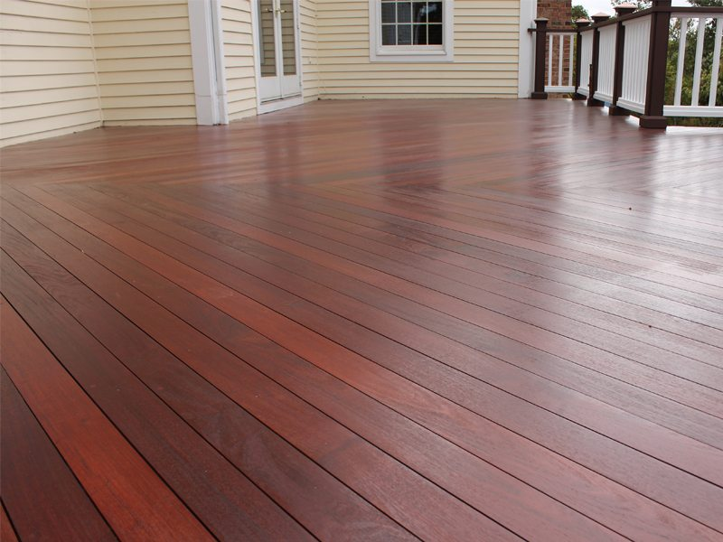 Deck Refinishing in Basking Ridge NJ