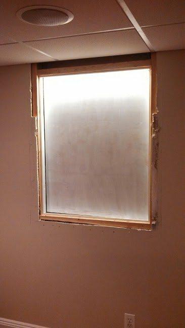 faux basement window installation chatham nj 07928 monk 39 s home