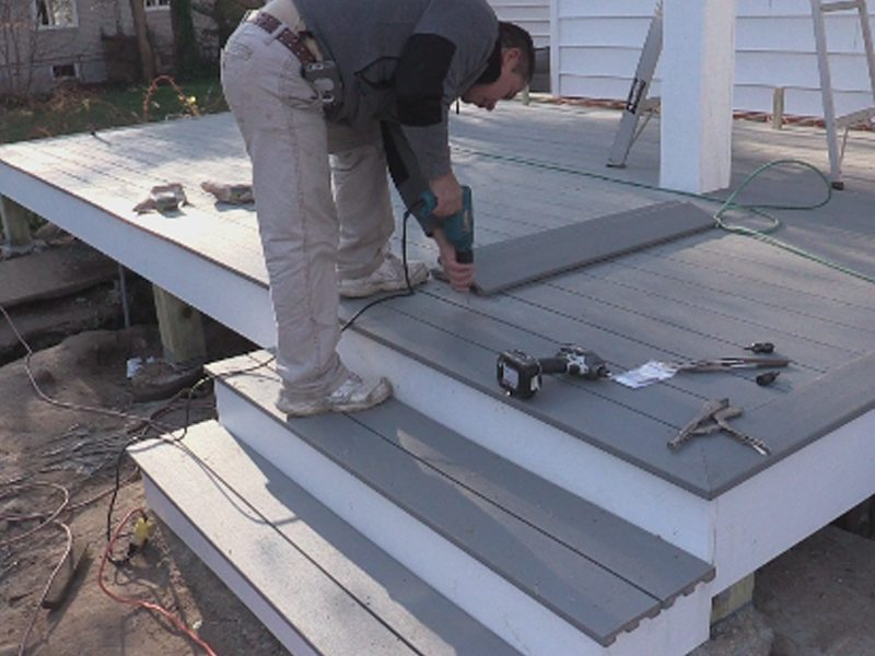 New floating composite deck morristown nj monk 39 s home for Best composite decking brand 2016