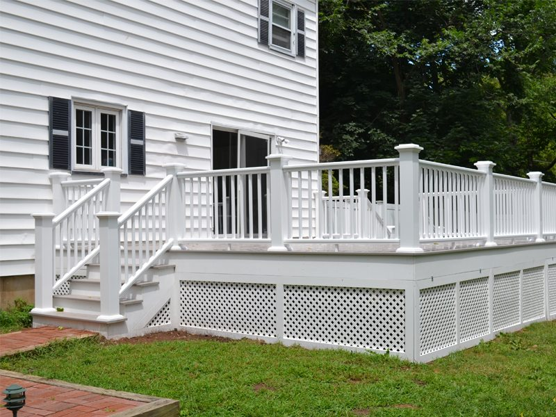 New Composite Deck in Florham Park NJ