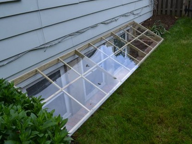 Custom Built Window Wells