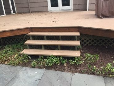 Deck Refacing in Morristown NJ